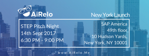 AiRelo Launch in New York