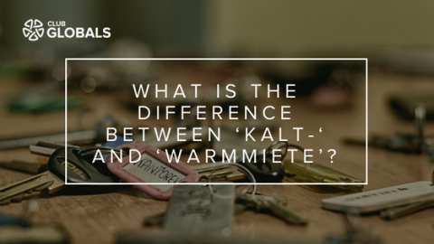 What is the difference between 'Kalt-' and 'Warmmiete'? – German Vocabulary