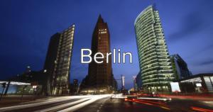 blured city cut berlin