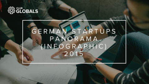 German Startups Panorama (Infographic) 2015