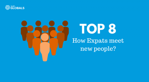 How Expats meet new People