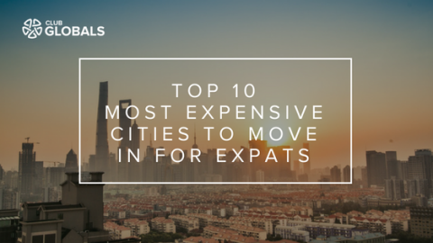 MOST EXPENSIVE CITY TO MOVE IN FOR EXPATS (Infographic)