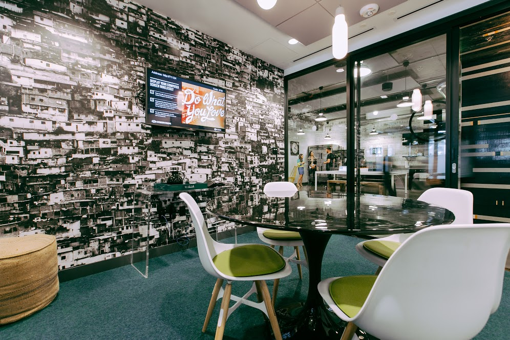 HR Innovation - Leveraging the Startup Culture Club GLOBALS Event - WeWork Room
