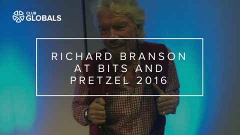 Richard Branson at Bits and Pretzel 2016