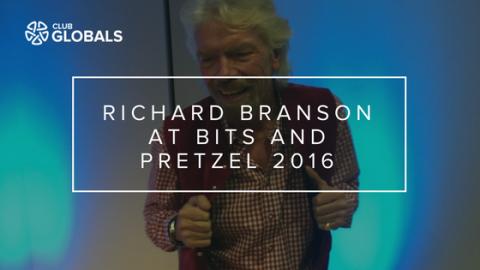 Richard Branson at Bits and Pretzel 2016