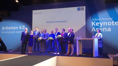 Zukunft Personal 2016- Arbeiten 4.0 the Employee Experience