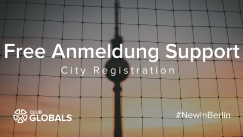 Anmeldung / Registration in Berlin free support