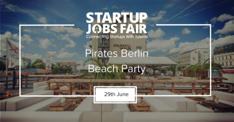Startup Jobs Fair at the beach
