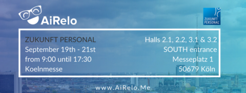 Meet AiRelo at Zukunft Personal