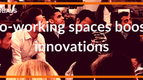 Co-working spaces boost the innovations of SMES.