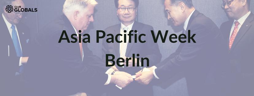 Asia Pacific Week Club GLOBALS