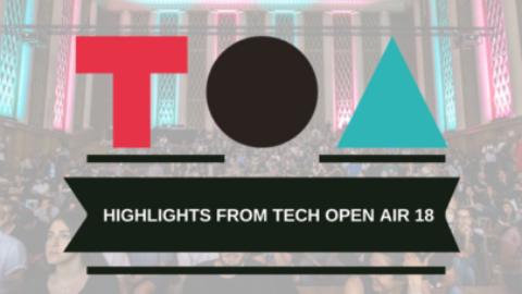 Tech Open Air 2018 – TOA18 @ Funkhaus, Berlin