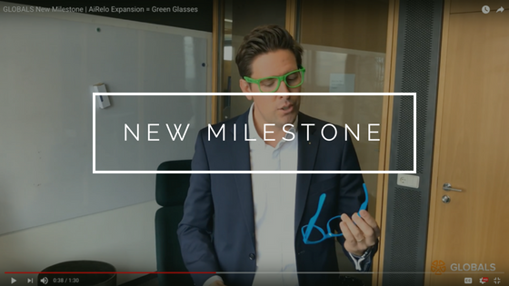 GLOBALS New Milestone AiRelo Expansion - Green Glasses
