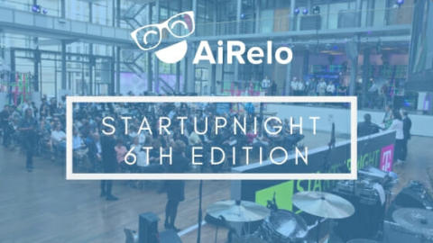 AiRelo presenting @STARTUPNIGHT 2018