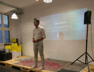 BotBerlin Meetup - Mario Paladini introducing AiRelo
