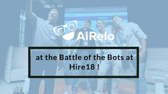 AiRelo at the Hire18 event