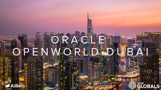 Oracle Open World Dubai Banner