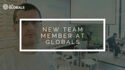 New team member at GLOBALS