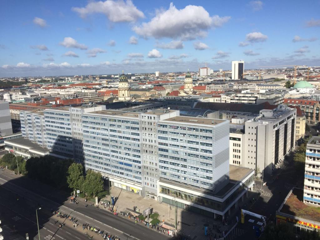 GLOBALS Sky Lounge Berlin Day Skyline