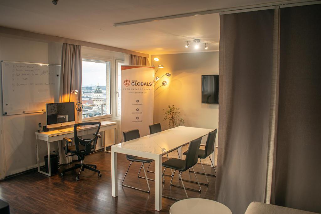 GLOBALS Sky Lounge Meeting Space Table