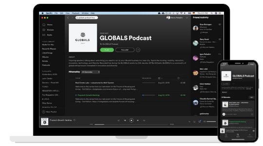 Partners Solutions - Featured at GLOBALS Podcast