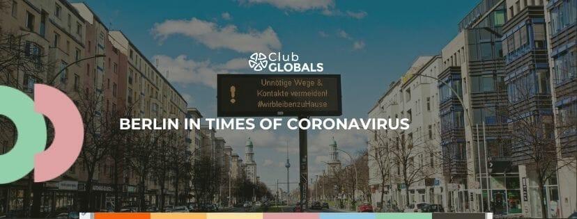 Berlin in times of Coronavirus