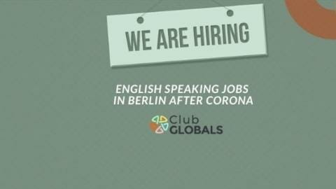 English Speaking jobs