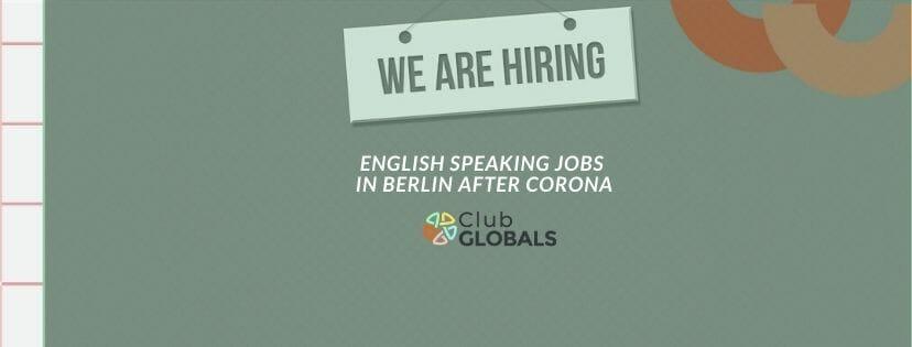 English Speaking jobs