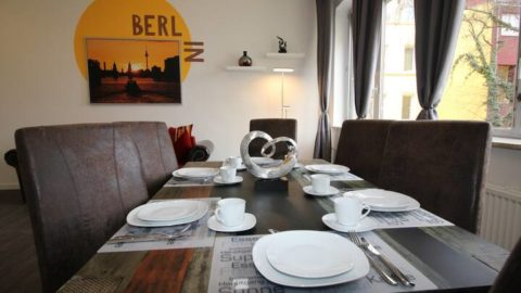 Furnished 3 rooms apartment in Tempelhof