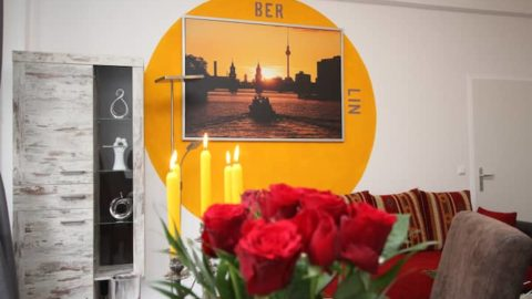 Furnished 5 rooms apartment in Tempelhof