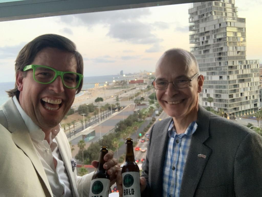 With Berlin City Representative